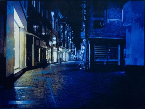 Amsterdam (Maze, Blue)
