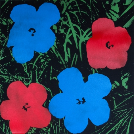 Poppies II - Homage to Warhol