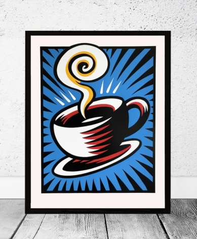 Coffee Cup - Blue