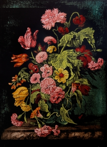 Still Life with Flowers IV - Homage to Rachel Ruysch
