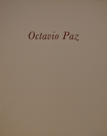 Blanco by Octavio Paz