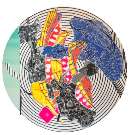 """Frank Stella; """"Imaginary Places"""""""
