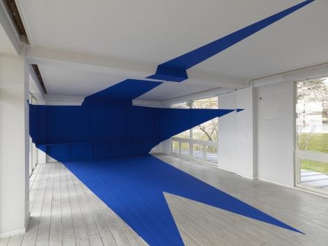 Details of Georges Rousse installation - Matsushima Japan 2010