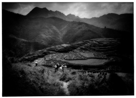 James Whitlow Delano, Empire,  Impressions from China, Photograph, black and white,  Zhaoxing, Guizhou Province, China, 1999, Sous Les Etoiles Gallery, New York
