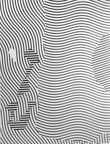 """Gottfried Jäger, Variation 2-163 (Photo graphic work from the series """"Theme and Variations II"""" (Crack), 1962-1965), 1965"""