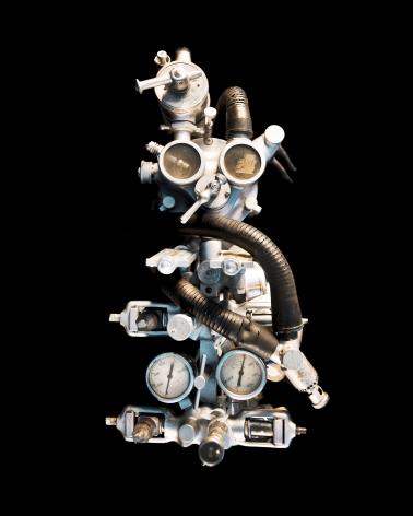 Reiner Riedler, Livesaving Machines, Historical Anesthesia Machine, 2012, Sous Les Etoiles Gallery