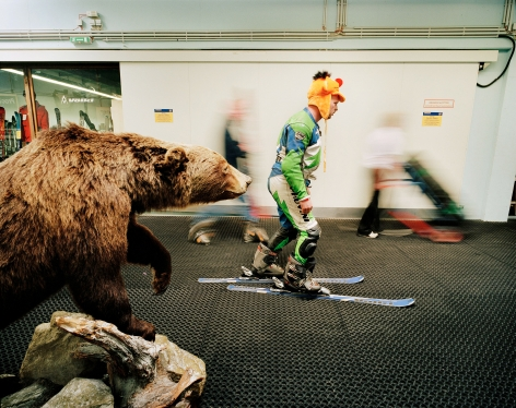 Reiner Riedler, Fake Holidays, Alpincenter Bottrop Indoor Ski Centre, Bottrop, Germany, 2004, Sous Les Etoiles Gallery
