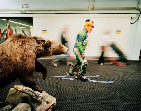 Reiner Riedler, Fake Holidays, Alpincenter Bottrop Indoor Ski Centre, Bottrop, Germany, 2004, Sous Les Etoiles Gallery
