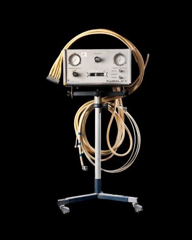 Reiner Riedler, Livesaving Machines, Historical Breathing Machine, 2012, Sous Les Etoiles Gallery