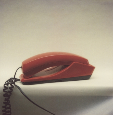 Susanne Wellm, Inner Landscapes, Sous Les Etoiles Gallery, red phone, 2005