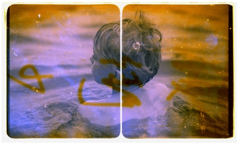 Robin Cracknell, grief tourist, 2012, Childhood, children, water, swimming, Sous Les Etoiles Gallery, New York