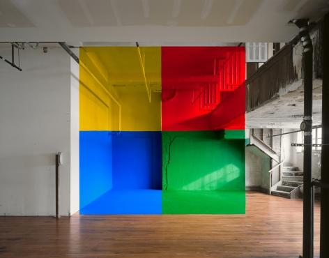 Georges Rousse, Baldwin, 2006, Sous Les Etoiles Gallery