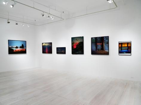 Barry Underwood, Scenes installation, Sous Les Etoiles Gallery