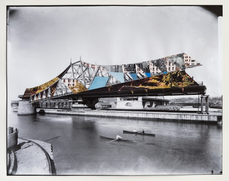Julie Boserup, Manhattan: Macombs Dam Bridge under construction over the Harlem River Date: undated (ca. 1894), from the collection at the New York Historical Society