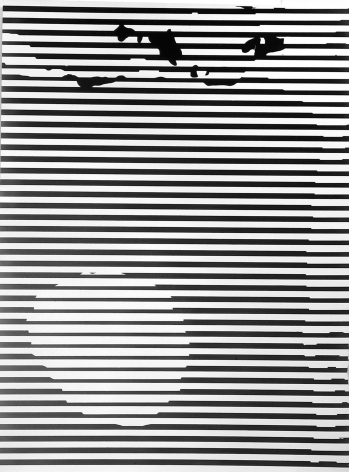 """Gottfried Jäger, Variation 2-157 (Photo graphic work from the series """"Theme and Variations II"""" (Crack), 1962-1965), 1965"""