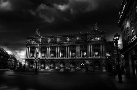 Paris, France, Place de l'Opera, 2007, Paris by Night, Jean-Michel Berts