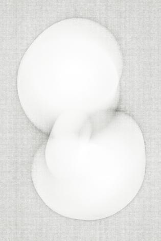 Luuk de Haan, big nothing 23, abstract photograph, white, unique, Sous Les Etoiles Gallery