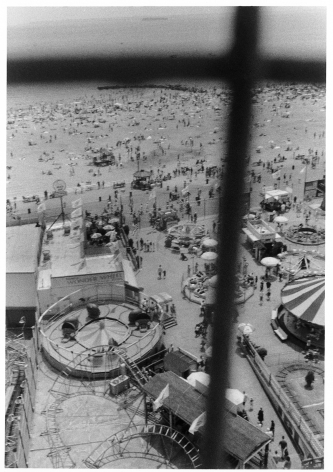 Sous Les Etoiles Gallery, View from Wonder Wheel, Harvey Stein, Coney Island