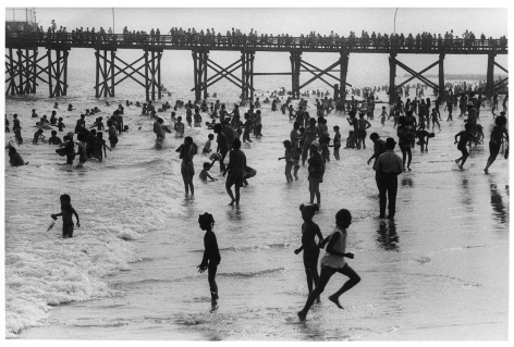 Sous Les Etoiles Gallery, The Pier from the Beach, Harvey Stein, Coney Island