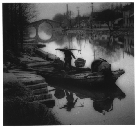 James Whitlow Delano, Empire, Impressions from China, Unloading coal from a canal barge, Near Suzhou, Jiangsu Province, China, 1996, Sous Les Etoiles Gallery