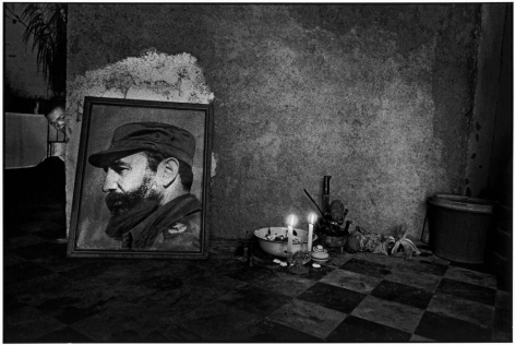 Ernesto Bazan, Cuba, Fidel Castro, Havana, 1995, Sous Les Etoiles Gallery, New York