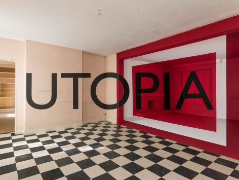 Georges Rousse, Utopia, 2015, Sous Les Etoiles Gallery