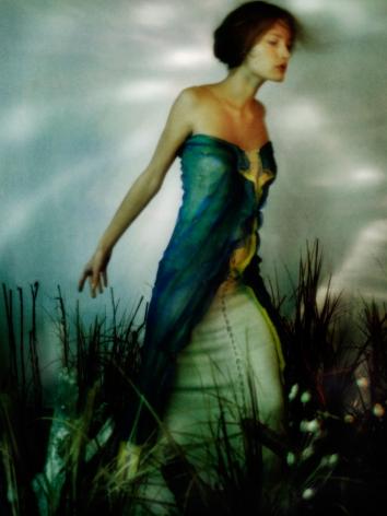 Patrick de Warren, Awoken Dream, Girl in Field 1, 2000, Sous Les Etoiles Gallery