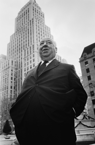 J, ean-Pierre LaffontAlfred Hitchcock at the Plaza Hotel in New York, December 14, 1969