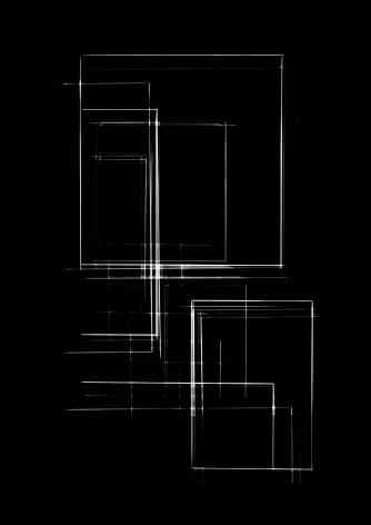 Luuk de Haan, waarschijnlijkheid 8, 2013 abstract photography, red and black, unique, Sous Les Etoiles Gallery, New York
