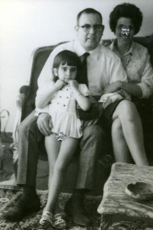 Carolle Bénitah, Photos-Souvenirs, Enfance, papa (daddy), 2009, Sous Les Etoiles Gallery