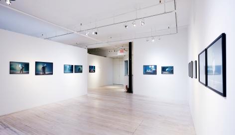 Sophie Delaporte, Postmodern Mysteries installation, Sous Les Etoiles Gallery 2016