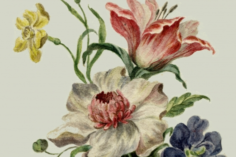 Susanne Wellm, Danish artist, Copenhagen, flowers, Sous Les Etoiles Gallery, New York