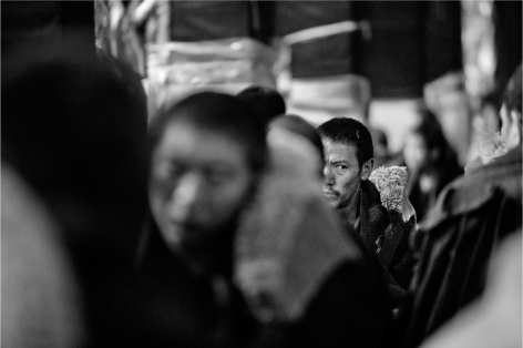 Laurent Zylberman, A Journey in Tibet, Buddhist Monastery of the Gelupka order, 2008, Sous Les Etoiles Gallery