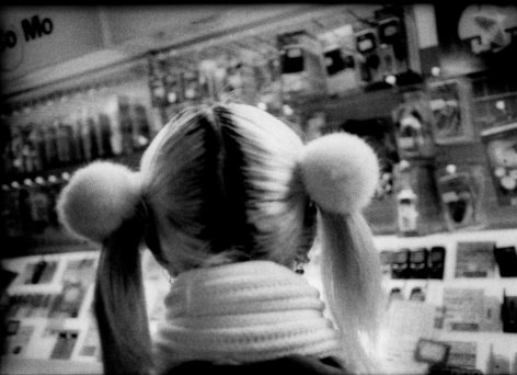 James Whitlow Delano, Mangaland, Pom-poms and pony tails lit by fluorescents, Tokyo, Japan, 2005, Sous Les Etoiles Gallery