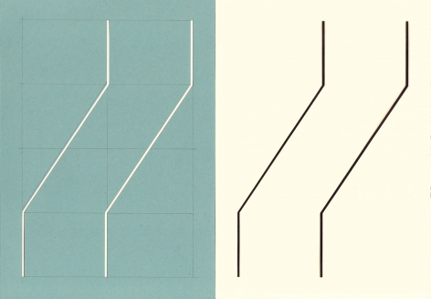 Richard Caldicott, Photogram and paper negative, Recent Work 2010-2013, Sous Les Etoiles Gallery