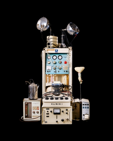 "Reiner Riedler, Livesaving Machines, ""Klinik I"" Historical Medical Machines, 2012, Sous Les Etoiles Gallery"