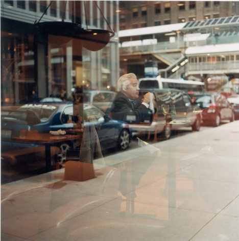 Ronan Guillou, Chicago Behind Glass, 2007, Sous Les Etoiles Gallery