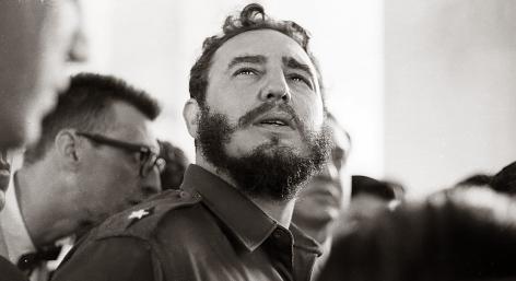 Alberto Korda, Fidel Castro in America, 1959,  Sous Les Etoiles Gallery