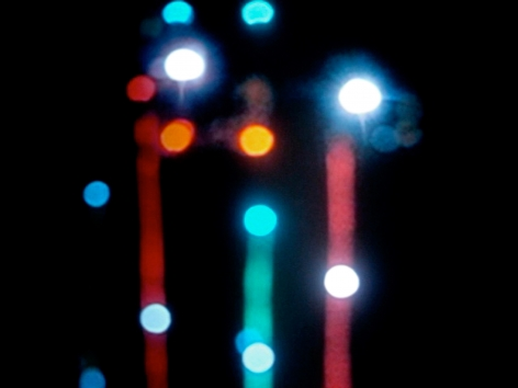 Jin-Ya Huang, Marfa Lights #2, 2007, Sous Les Etoiles Gallery