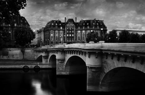 Paris, France, Le POnt Neuf,Ile de la Cite, Jean-Michel Berts