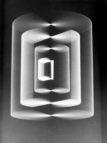 RFVO3, 136,Gianfranco Chiavacci, abstract photography, Italian artist, binary art, mathematics, black and white, vintage, movement, Sous Les Etoiles Gallery