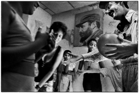 Ernesto Bazan, Cuba, Fidel Castro, Havana, 1998, Sous Les Etoiles Gallery, New York