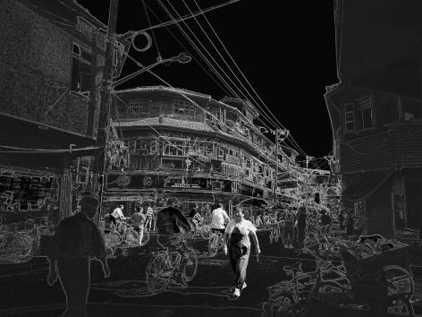 Wolfram Ruoff, Pure Lines, Shanghai Merchant, 2006, Sous Les Etoiles Gallery
