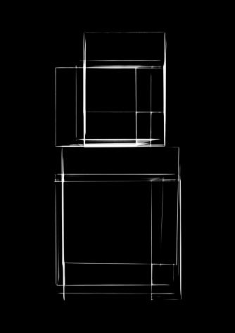 Luuk de Haan, waarschijnlijkheid 12, 2013, abstract photography, black, Sous Les Etoiles Gallery, New York