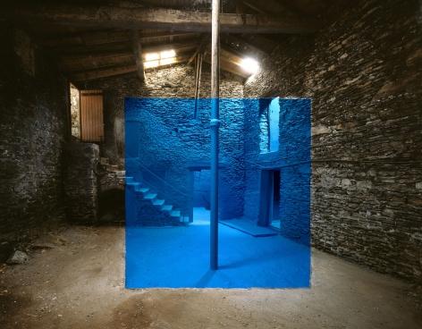 Georges Rousse, Chasse-sur-Rhone, 2010, Sous Les Etoiles Gallery