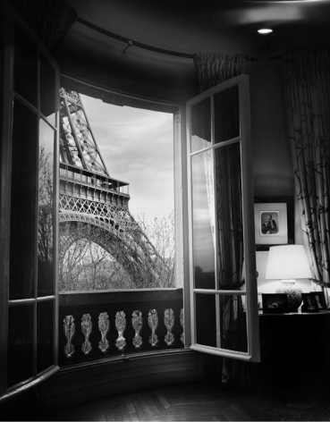 PAris, France, Jean-Michel Berts, Eiffel Tower from the Window,