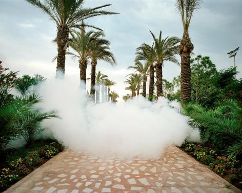 Reiner Riedler, Fake Holidays, Insect Screen, Titanic Resort, Antalya, Turkey, 2006, Sous Les Etoiles Gallery