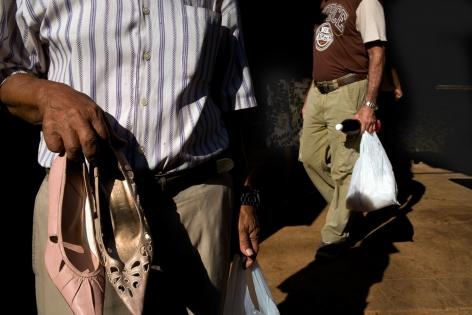 Magdalena Solé, Cuba - Hasta Siempre (Cuba Forever), Shoes for Sale, Havana, 2013, Sous Les Etoiles Gallery