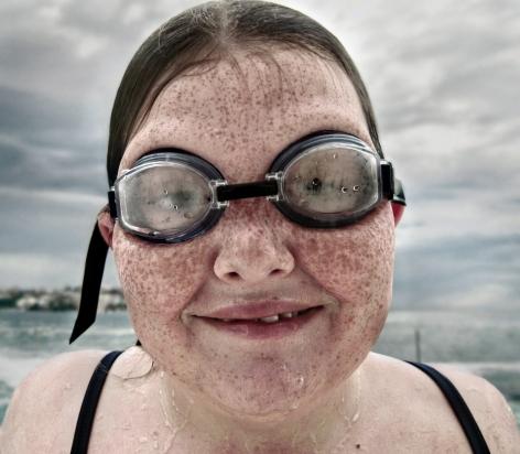 Matt Hoyle, Icebergs, Goggle Girl, 2003, Sous Les Etoiles Gallery