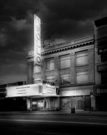 Jean-Michel Berts, Light of New York, Apollo, 2007, Theater, Jazz, Harlem Sous Les Etoiles Gallery